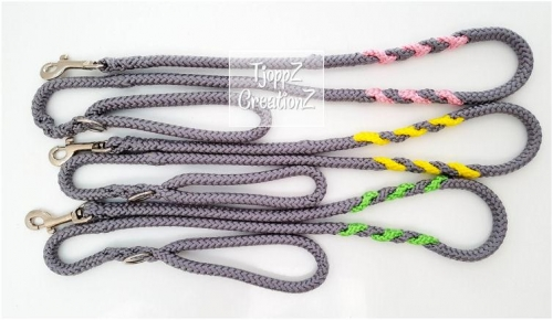 Riemen bijbehorend bij paracord halsbanden